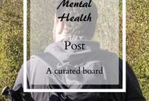 Mental Health / A board to post useful articles, posts, and anything else mental health related. because #Mentalhealthmatters