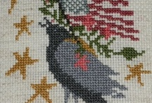 counted cross stitch / by Rosemary Scoggins