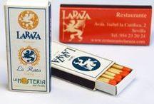 Cajas de Cerillas / Cajas de cerillas publicitarias personalizadas.