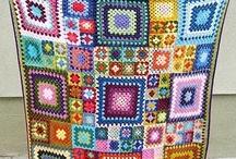 Crochet variado / Mantas, faldas , alfombras, faldas, pantalones, flores..... / by Susiloci Lc
