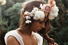Floral Hair Pieces / by H.Bloom Weddings
