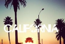 Cali / A vision board. I will live in LA.
