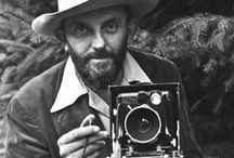 Ansel Adams / American photographer and environmentalist. Famous for his black and white landscape portraits.