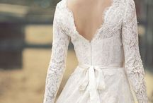Married for Six Years and Still Obsessed With Weddings / I will never tire of looking at pretty white dresses. / by Joanna Schuth