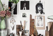 studio space || interiors / beautiful work studios.