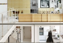 Living Space / i like clean, wood, lights, contemporary, bit retro, warm, and unusual use of spaces...searching for ideas for my dream home / by Jane Yan