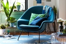 Midcentury Interior Aesthetic / Back to the roots....out to the branches-- I love iconic images, but also the people who play with all aspects of mid-century modern casual and gracious living.  / by Edith Serkownek