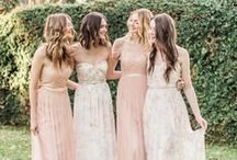 Bridesmaids / Elegant, wear-again bridesmaids dresses ~ a real gift for your bridal party!