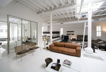 lofts and industrial / by Julie Hayward