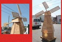 Custom Wood Work / Our woodshop has made everything from chicken coops to windmills.