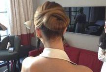 BRIDAL HAIR we love / Hair # Wedding# Bridal show# Caroline Hererra# Oscar De La Renta # Up do# Chignon# Varin Salon# NYC# Madison avenue.