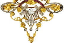ANTIQUE/VINTAGE  JEWELERY / by Shirley Weston