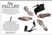 chic accessories / Wolford and Chinese Laundry- what more is there to say?