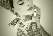 Needle and ink. / Tattoos and art I love.