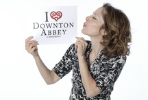 """I Heart Downton Abbey  / Join the fun: STEP 1: Print a copy of our """"I HEART Downton Abbey"""" sign. STEP 2:  Snap a picture of yourself or a friend holding the sign and upload your photo to Pinterest. STEP 3: Include #IHeartDowntonAbbey in your caption and email a link to your Pin to ThirteenNY@gmail.com so THIRTEEN can find & re-pin! Downton Abbey Season 3 airs on January 6, 2013 on PBS!"""