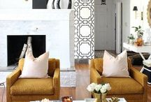 HOME TOUR / Transforming our 1950's brick ranch into a home full of style. Daring but lovely design. www.bliss-athome.com