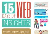 15 Days Of Web Insights / These are the 15 Days Of Web Insights we did to prep for our Website Creation Workshop for Small Business Owners on May 7, 2014. #website #smallbusiness #entrepreneur / by Craft Web Solutions