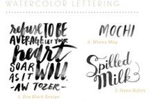 Fonts / by Lindsey Joy Moreno