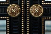 INTERIORS   DOORS / Exterior and interior door inspiration.