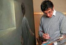 """José Luis Resino / Obras del artista español José Luis Resino. Según la valoración realizada por Ansorena, Resino es uno de los máximos exponentes de la pintura realista contemporánea española y así lo documenta en el libro """"Realismos"""" Arte Contemporáneo español.Editorial Mato Ansorena."""
