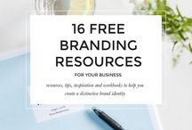 BRANDING / How to do your business and personal branding, whether a blog, a website, yourself. Understand branding and use it in your marketing strategy.