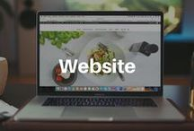 WEBSITE / Tips and ideas for your business website. How to make your own simple yet beautiful Wordpress website, the anatomy of effective website and all you need to know to make money online.