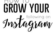 ROCK YOUR INSTAGRAM / Best tips and ideas to help your Instagram to grow. Marketing strategies to get those followers on your account. How to optimise hashtags and other hacks for Instagram growth.