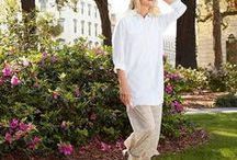Aire Collection / You'll love this sun protection you wear. Elegant and breezy, Aire seems like it should be for special occasions, but it's really perfect for all occasions. With a beautiful drape and silky feel, this luxurious fabric is feather-light, breathable and has built-in stretch. Plus, it's all UPF 50+ for the skin smart sun protection you need. It's like wearing sunscreen, but better.
