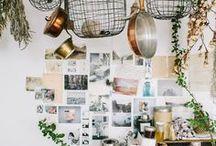 the art studio / inspiration for organising and designing my art studio