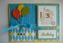 Birthday cards / by Diana Crawford