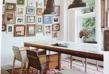 Dining Room Inspiration / Love this dining room table & decor!