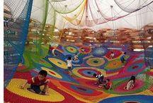 Arquitectura- playgrounds / Inspiración proyecto Taller de diseño III