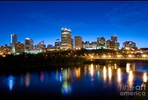 Edmonton, Alberta / The capital city of Alberta, Edmonton is a beautiful city  located on the North Saskatchewan River. For information on Edmonton, visit us at http://www.topcityrealestate.ca/edmonton.html / by Top City