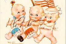 Vintage Patriotic love