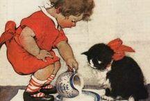 Vintage Children Printables