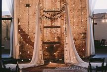 B ~ Industrial Chic & BOHO Wedding / by Moments In Time Wedding & Event Rentals