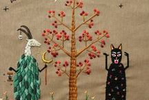 threads • needlework