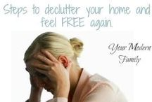 Clutter No More / Tips to declutter. / by Tiffani Wallace