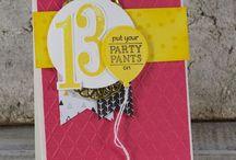Party Pants - Stampin' Up (2016 SAB) / by Diana Crawford