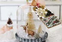 Crafts: Christmas / Various crafts, hobby, cutting, scrapbooking, thrift finds, vintage, shabby chic Christmas projects!