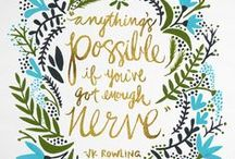 Inspiring Words | Pretty & witty. / worthy words worth noting and inspirational sayings and quotes