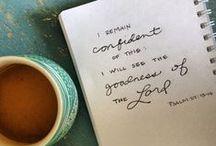 Faith | be still & know. / i love jesus. faith