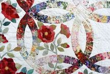 Quilts Quilts Quilts / Antique, brand new. Any quilt with great appeal.  Usually quilts with these three attributes:  amazing piecing, applique and quilting.  / by Alice Cooksey