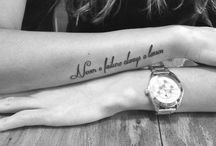 Tattoos / by Katja Coppens