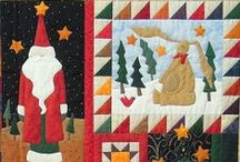 Quilts: Christmas~~**~~ / Joyful Christmas quilts & crafts / by ☆ ☆ Alice Cooksey ☆ ☆