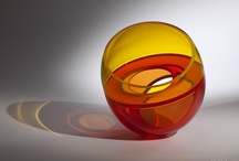 Abstract Glass Sculptures by Artist John Kiley / The Sculptures I make are an exploration of external and internal form; an expression of the relationship that exists between shape and light. I strive to create objects that push the material itself beyond its simple inherent beauty. When I look at a finished piece, it should be apparent to me that it could only exist in glass.