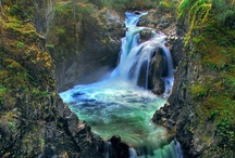 back to the nature - falls