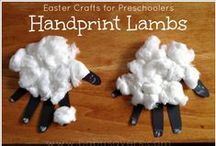 Easter Crafts for Kids / Family fun with Easter crafts for kids.  Tons of great bunny, lamb, chick, and religious crafts for your kids.  All the crafts are easy to do and kid-friendly.  Get your kids some Easter treats with some of these craft recipes.  More family fun can be found at www.smartypantsmama.com