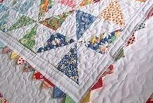 Quilts: Pinwheels~~**~~ / Any use of pinwheel blocks. Quilting / by ☆ ☆ Alice Cooksey ☆ ☆