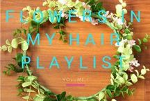 Floral Everything | ideas in my hair. / All the ways you can use flowers (in your hair and otherwise)